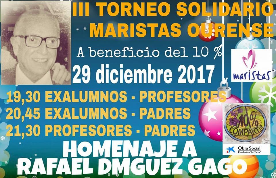 LOS PADRES PARTICIPAN EN EL III TORNEO SOLIDARIO DE FUTBOL SALA
